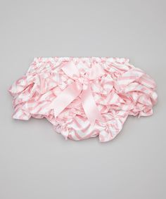 Look at this Light Pink Zigzag Bloomers - Infant on #zulily today!