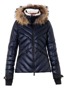 Makalu fur-trimmed quilted down jacket   Moncler Grenoble    MATCHESFASHION.COM US Puffy 1716800be71