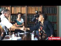 La Politique Christiane Taubira en visite à la Réunion - http://pouvoirpolitique.com/christiane-taubira-en-visite-a-la-reunion/