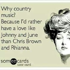 Why country music
