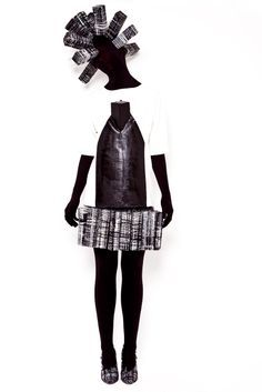 Hellen van Rees AW13 look 12 #AW13 #hellenvanrees #fashion