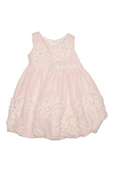 Biscotti Girl's My Sweet Love Dress - White/Pink. Three-dimensional bows and flowers beautifully decorate this darling baby dress in a subtle pink and white windowpane check fabric. Perfect for birthday parties and special visits with grandma! Coupons By Mail, Baby Couture, Check Fabric, Yellow Sweater, Sweet Dress, Love Is Sweet, Baby Dress, Infant, White Dress