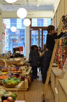 Purl Soho - Must visit when I take Daughter #1 to NYC for first time.