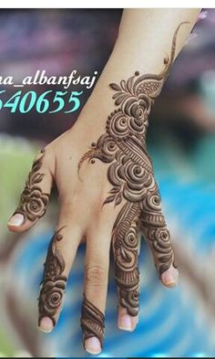 Mehandi Hena Designs, Arabic Henna Designs, Mehndi Designs For Girls, Modern Mehndi Designs, Mehndi Design Pictures, Beautiful Mehndi Design, Latest Mehndi Designs, Mehndi Images, Bridal Mehndi Designs