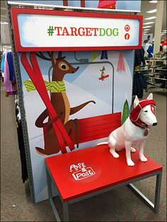 In-Store Target Dog Selfie Photo Opportunity