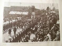 """""""Lunes 15 de Octubre. 1934 - Llegada del Eminente Cardenal Legado y Exmo. Señor Gobernador de la Provincia de Buenos Aires a la Basílica de Nuestra Señora de Luján. -"""