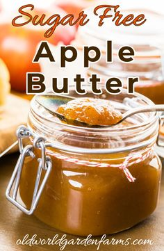 Added Sugar Apple Butter Sugar Free Apple Butter recipe made in the slow cooker. Sugar Free Apple Butter recipe made in the slow cooker. Sugar Free Desserts, Sugar Free Recipes, Sugar Free Apple Jelly Recipe, Apple Butter Recipe No Sugar, Apple Recipes No Sugar, Peanut Butter, Homemade Apple Butter, Healthy Desserts, Slow Cooker