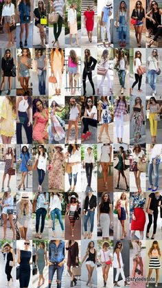 You might also like 60 Stylish Spring Outfits For Your Summer Lookbook  and 60 Great Summer Outfits On The Street 2015 -- Be sure to follow my street style board on Pinterest - Fashion Estate - for all of my latest trendy fashion and street style outfit updates.