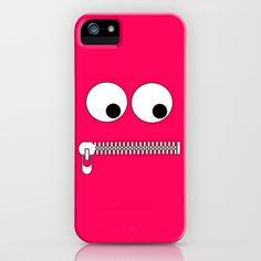 Don't Speak Face iPhone Case by Sberla - $35.00