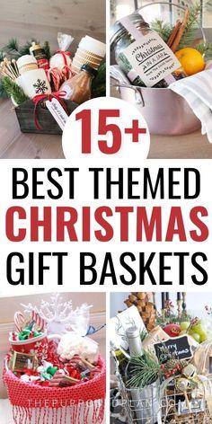Christmas Gift Themes, Diy Christmas Baskets, Merry Christmas, Christmas Gift Exchange, Inexpensive Christmas Gifts, Diy Holiday Gifts, Christmas Gift Baskets, Family Christmas Gifts, Homemade Christmas Gifts