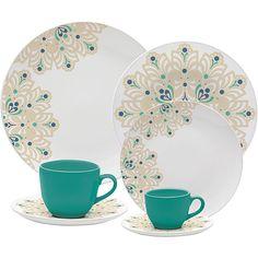Aparelho de Jantar 30 peças Porcelana Lindy Hop - Oxford Porcelanas
