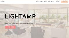 Mobirise AMP Website Builder v4.7.0 - LightAMP Theme!  Live Demo: https://mobirise.com/extensions/lightamp/  We released a new AMP theme - LightAMP - that looks minimalistic and elegant.