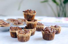 Apple Walnut Muffins - gluten free, dairy free, sugar free - get in my face