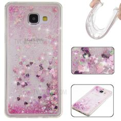 Fluid Glitter Sequins TPU Case for Samsung Galaxy A5 SM-A510F (2016) - Pink-1