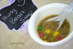 Love to Cheu: Mung Bean Soup (Sweet)