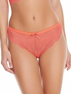 Wacoal Halo Lace Bikini Briefs Conch Shell Astral Aura Size M New with Tags UK