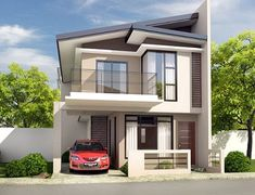 Planning to build your own house? Check out the photos of these beautiful 2 storey houses.This article is filed under: Small Cottage Designs, Small Home Design, Small House Design Plans, Small House Design Inside, Small House Architecture Two Story House Design, 2 Storey House Design, Small House Design, Modern House Design, Beautiful House Plans, Dream House Plans, Modern House Plans, Modern Zen House, Organize Life