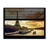 Found it at Wayfair - 'Window View Paris at Sunset 1' by Philippe Hugonnard Photographic Print on Wrapped Canvas