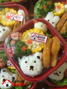 Teddy Bear mini bento