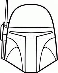 boba fet simple image - Bing images