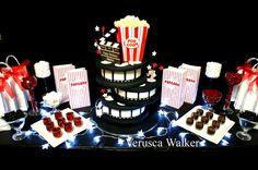 Cinema party table by Verusca.deviantart.com