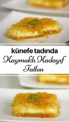 Kaymaklı Kadayıf Tatlısı (Künefe Tadında) – Nefis Yemek Tarifleri How to make Kaymaklı Kadayıf Dessert (Kunefe Tadında) Recipe? Illustrated explanation of this recipe in the book of people and photos of those who try it are here. Beef Pies, Mince Pies, Chicken Salad With Pineapple, Green Curry Chicken, Red Wine Gravy, Egg Pie, Onion Pie, Flaky Pastry, Sausage And Egg