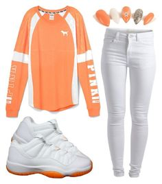 """""""It Goes Down In The DM"""" by miyaaonfleek02 ❤ liked on Polyvore featuring Retrò, Pieces, women's clothing, women, female, woman, misses and juniors"""