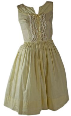 Lovely Feminine 1950s Flared Dress