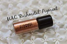 """MAC """"Rushmetal"""" Pigment"""