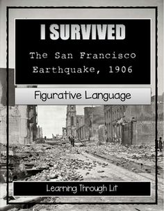 I+Survived+Series+by+Lauren+TarshisI+love+the+figurative+language+she+uses+in+her+books!+Great+way+to+introduce+it+to+students!Figurative+language+analysis+from+each+chapter+(answer+key+included)*+Similes*+Idioms*+Metaphors*+Onomatopoeia*+Personification