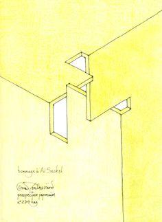 Oscar Reutersvard - Impossible Corner 274