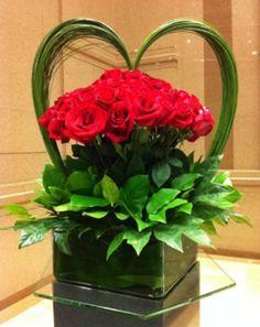 66 Ideas Flowers Bouquet Red Floral Arrangements For 2019 Love Flowers, My Flower, Flower Art, Beautiful Flowers, Wedding Flowers, Simple Flowers, Arte Floral, Deco Floral, Floral Design