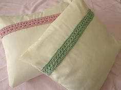 ▶ VERY EASY pretty crochet cushion / pillow decoration - YouTube