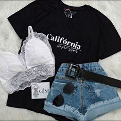 Cute Office Outfits, Stylish Summer Outfits, Cute Casual Outfits, Comfortable Outfits, Teenage Outfits, Teen Fashion Outfits, New Outfits, Diy Summer Clothes, Ms Gs
