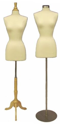 Boutique Dress Form, Linen Display Dress Form