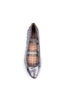 Sequin Ballet Flat