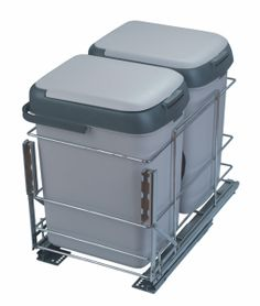 Pull out Waste Bin Double Bin Base Mounted Pull Out Waste Bin Maximum utilization of space inside the sink cabinets Heavy duty Concealed Runners used Minimum Internal Size: W x H Contemporary Kitchen Interior, Personal Taste, Sink, Organisation Ideas, Runners, Cabinets, Base, Decor, Sink Tops
