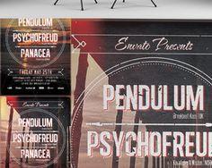 Typography Event Flyer Design by ConstantinPotorac - 2912