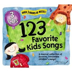 123 Favorite Kids Songs 1-3