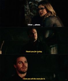"#Arrow 3x20 ""The Fallen"" -  Oliver & Felicity"