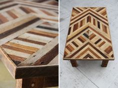 i want this woman's life. and this coffee table that she made.