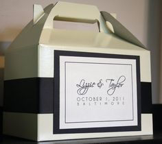 Custom Wedding Welcome Overnight Guest Bag/Basket  by EverAfterNY, $3.75