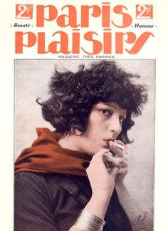 Kiki de Montparnasse on the cover of Paris Plaisir, c.1930