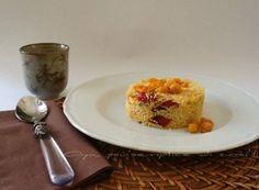 Cous cous zucca, ceci e peperoni, ricetta vegetariana | Oya
