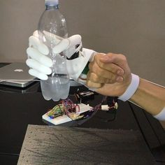 Something we loved from Instagram! Grasp it! Soon the video #youbionic #bionic #hand #robot #design #DIY #industrialdesign #prosthetic #prosthetics #prosthesis #3dprinting #3dprint #3dprinted l #visual #cyborg #mechatronics #medical #biomedical #technology #new #future #ironman #maker #makers #arduino #RaspberryPi #mechanics #render #image #animation by youbionic Check us out http://bit.ly/1KyLetq