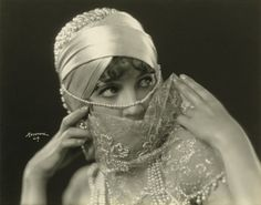 "Julanne Johnston (1900-1988) in ""The Thief of Bagdad"", 1924. She was active in silent film from 1919 to 1930."
