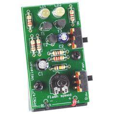 Dual white LED Stroboscope kit
