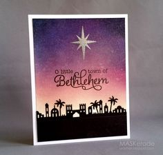 MASKerade: O Little Town of Bethlehem...