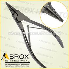 Model Number: AI-PP-116 Stainless Steel Ring opening pliers with 4 grooves Rings up to 6 mm can be opened with this pliers. This Pliers is best for Bead Workers, Wire Wrap Artists, Traditional Jewellery Making, Beading and other fine Hobby Work.