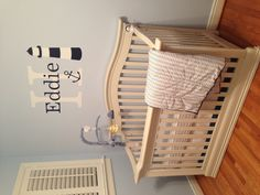 My nautical baby nursery :)